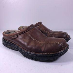 Merrell World Outlook Mules Slip On Shoes 43309